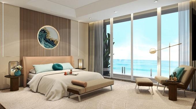 The Maris cho phép gia chủ tự do thể hiện cá tính với bản thiết kế nội thất riêng. Ảnh phối cảnh: Rio Land.