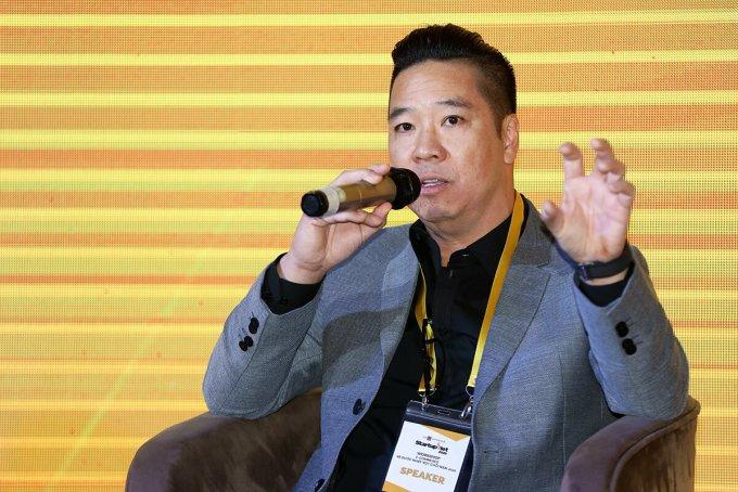 Ông John Lê - Sáng lập Propzy. Ảnh: Quỳnh Trần.