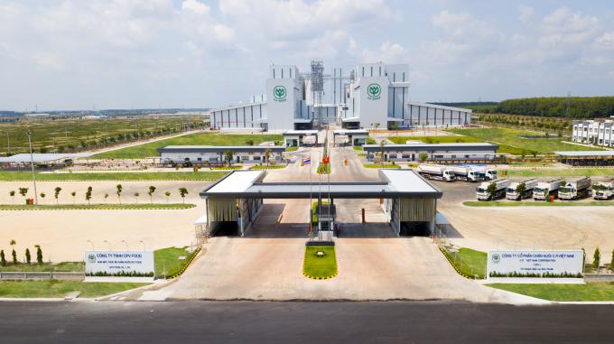Tổ hợp nhà máy CPV Food Bình Phước có vốn đầu tư ban đầu 250 triệu USD, công suất thiết kế lên đến 100 triệu con mỗi năm. Ảnh: CPV Food.