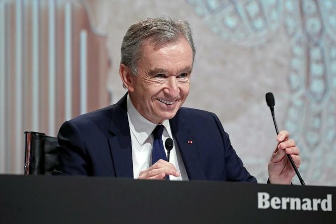Ông chủ LVMH Bernard Arnault. Ảnh: Reuters