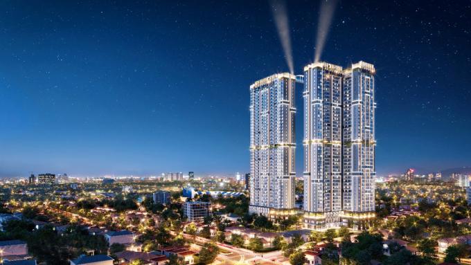 Với 40 tầng cao, Happy One - Central là một trong những dự án cao nhất tại Thủ Dầu Một