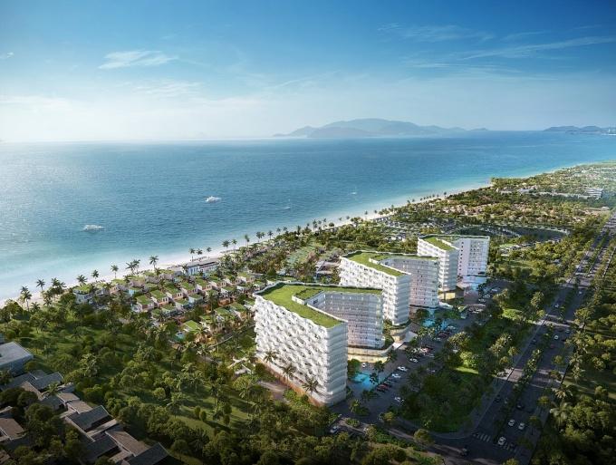 Phối cảnh dự án Shantira Beach Resort & Spa.