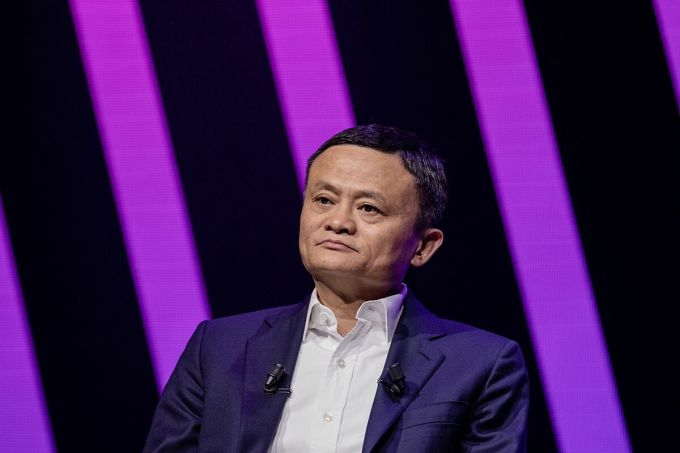 Đồng sáng lập Alibaba Jack Ma. Ảnh: Bloomberg