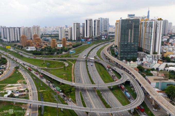 Thị trường bất động sản tại TP Thủ Đức. Ảnh: Quỳnh Trần.