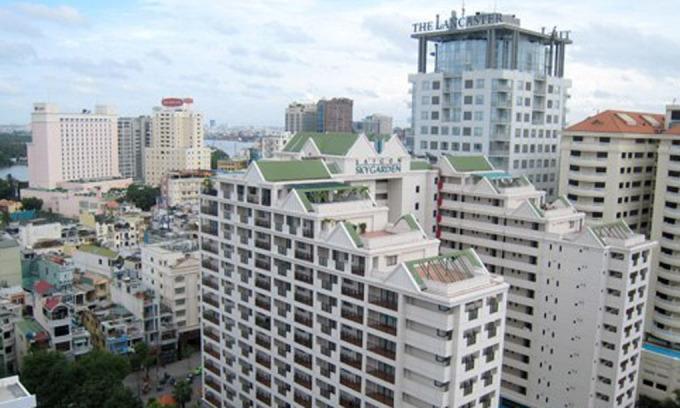 Thị trường căn hộ dịch vụ và khách sạn khu trung tâm TP HCM. Ảnh: Vũ Lê.
