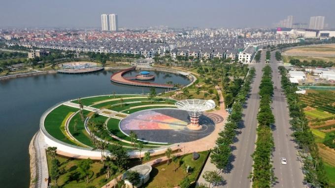Công viên Thiên Văn học tại khu vực phía Tây.