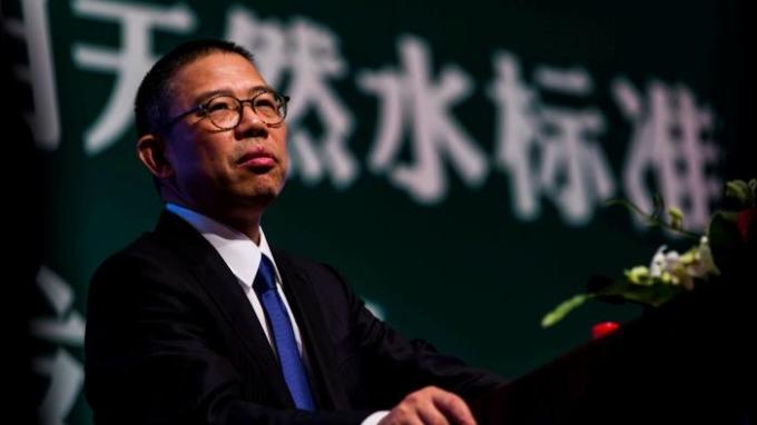 Zhong Shanshan - Chủ tịch hãng nước đóng chai Nongfu Spring. Ảnh: Reuters