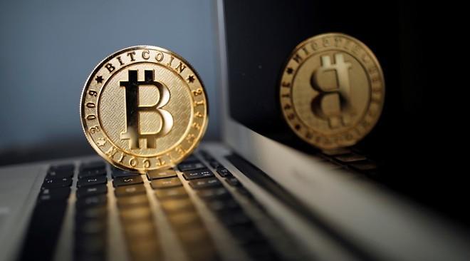 Đồng Bitcoin tăng giá mạnh. Ảnh: Reuters.