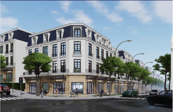 Sapa Garden Hills - dự án shophouse thương mại vừa ra mắt tại Sa Pa.