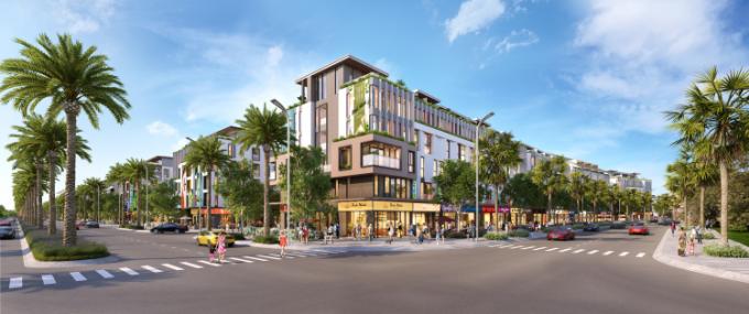 Các chuyên gia dự báo nhà ở đô thị cao cấp sẽ bùng nổ thời gian tới. Ảnh 3D dự án Meyhomes Capital Phú Quốc.