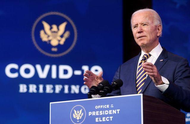 Tổng thống đắc cử Mỹ Joe Biden trong một sự kiện tháng trước. Ảnh: Reuters