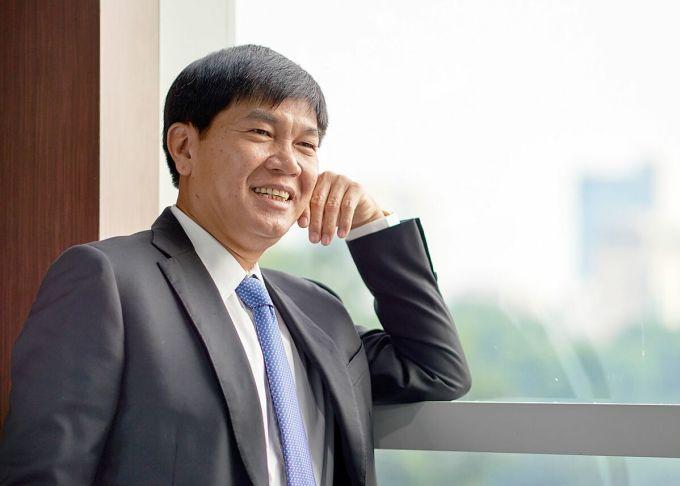 Nhà sáng lập kiêm Chủ tịch Tập đoàn Hòa Phát Trần Đình Long. Ảnh: Hòa Phát.