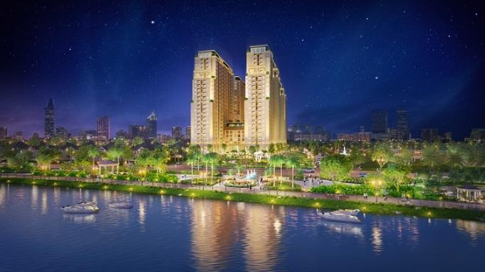 Phối cảnh dự án Dream Home Riverside.