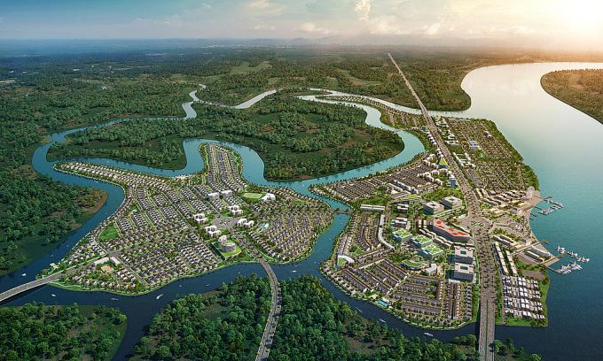 Phối cảnh một dự án tại Đồng Nai của doanh nghiệp bất động sản Sài Gòn.