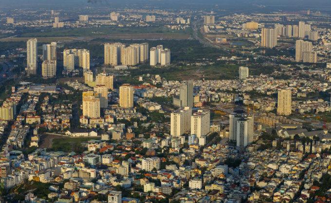 Thị trường nhà ở tại phía Đông Sài Gòn, thuộc TP Thủ Đức. Ảnh: Quỳnh Trần.