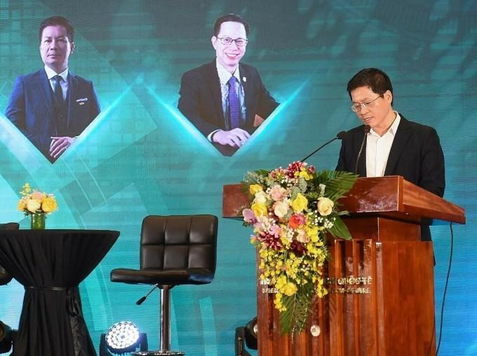 Ông Trần Đăng Nam - Phó chủ tịch Thường trực HanoiBA phát biểu khai mạc tọa đàm. Ảnh: HanoiBA.