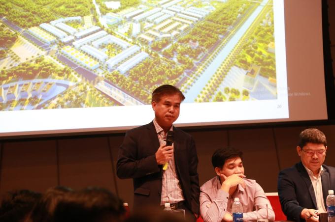 Ông Hoàng Văn Tăng, Tổng Giám đốc Tập đoàn DIC chia sẻ về môi trường đầu tư tại tỉnh Quảng Bình.