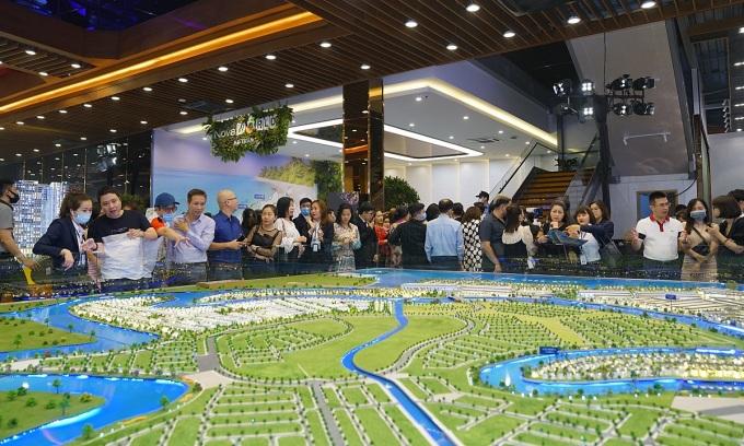 Bất động sản là kênh đầu tư thu hút nhiều sự quan tâm từ khách hàng. Ảnh: Novaland.
