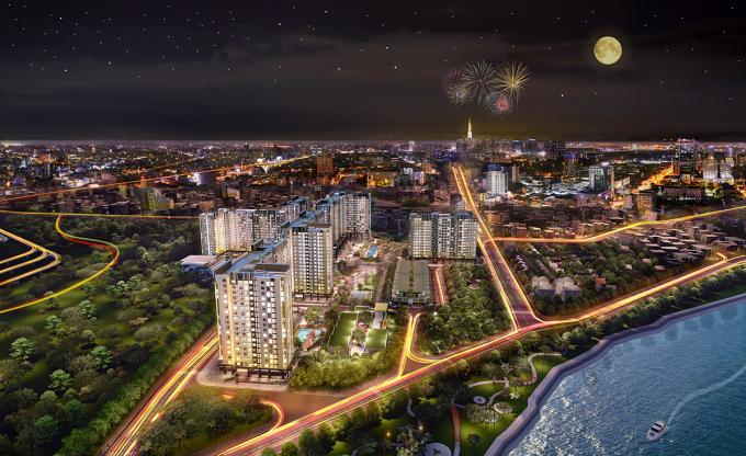 Picity High Park - dự án được các nhà đầu tư đánh giá cao. Ảnh phối cảnh: __________