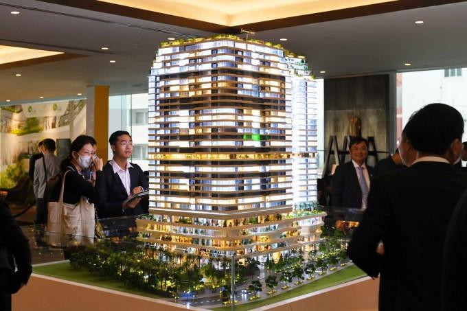 Phần giới thiệu chuyên sâu về dự án nhận được nhiều sự quan tâm. Ảnh: BCG Land.