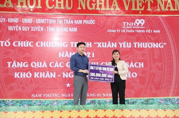 TNH99 mang Tết ấm về tới người dân xứ Quảng