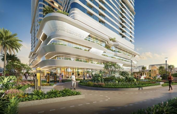 King Crown Infinity đang thu hút sự quan tâm lớn tại thị trường bất động sản khu Đông. Ảnh phối cảnh: BCG Land.