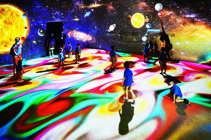 Trung tâm giải trí tương tác công nghệ cao JP World ở Gigamall. Ảnh: Gigamall.