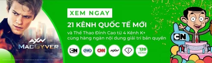 VieON kết nạp thêm 21 kênh truyền hình quốc tế nổi tiếng. Ảnh: VieON.