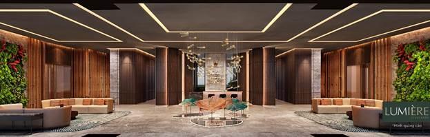 Dự án được chăm chút tỉ mỉ trong từng chi tiết thiết kế từ kiến trúc mặt ngoài cho đến nội thất. Ảnh phối cảnh: Masterise Homes.
