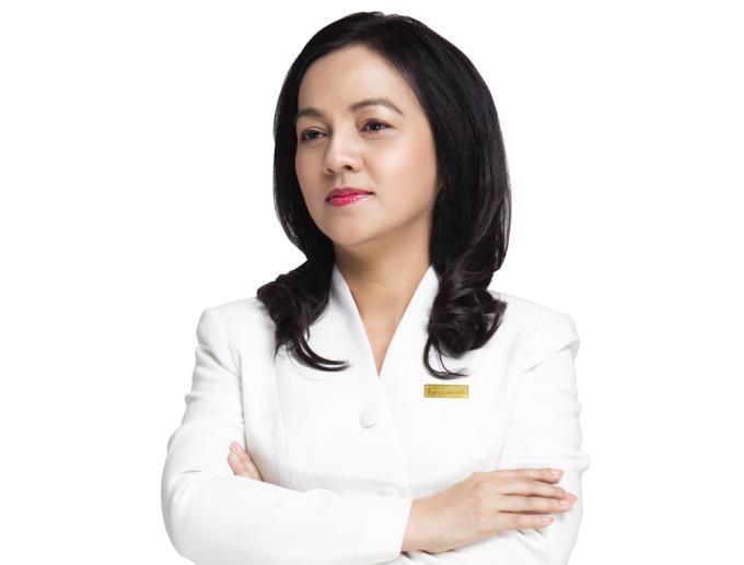 Bà Nguyễn Đức Thạch Diễm, Tổng giám đốc Sacombank. Ảnh: Sacombank.