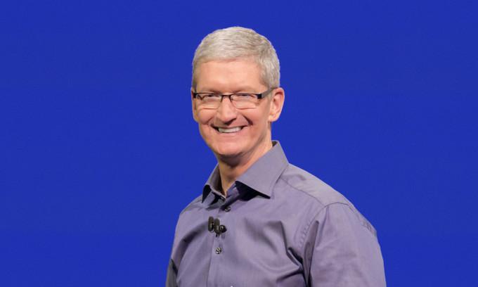 CEO của Apple, ông Tim Cook. Ảnh: iDropNews.