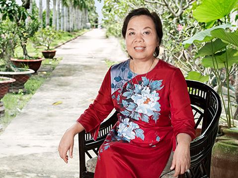 Bà Trương Thị Lệ Khanh, Chủ tịch Công ty Vĩnh Hoàn. Ảnh: Vĩnh Hoàn.
