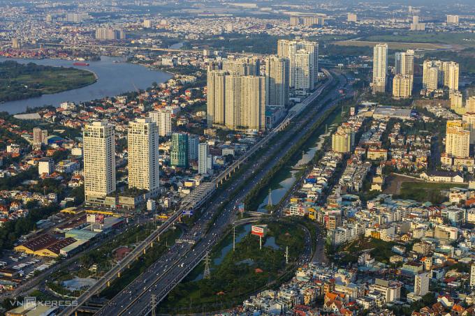 Thị trường bất động sản TP Thủ Đức. Ảnh: Quỳnh Trần.