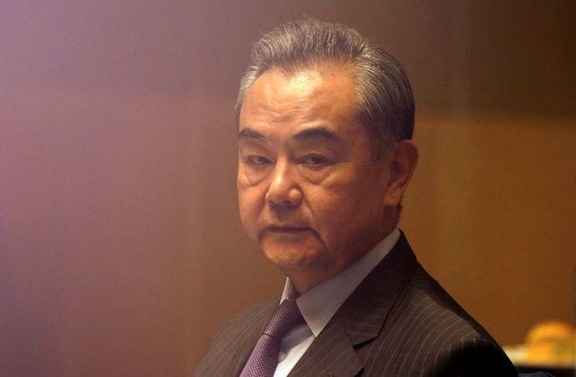 Bộ trưởng Ngoại giao Trung Quốc Vương Nghị. Ảnh: Reuters