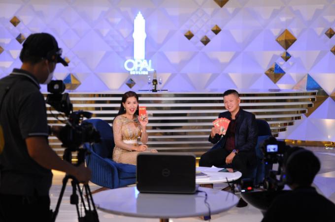 Đất Xanh Services tổ chức chương trình live talkshow bất động sản trong ngày vía thần tài. Ảnh: Đất Xanh Group.