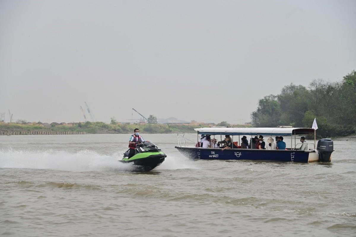 Tận hưởng 'miền sông nước' nơi đô thị đảo Phượng Hoàng Aqua City