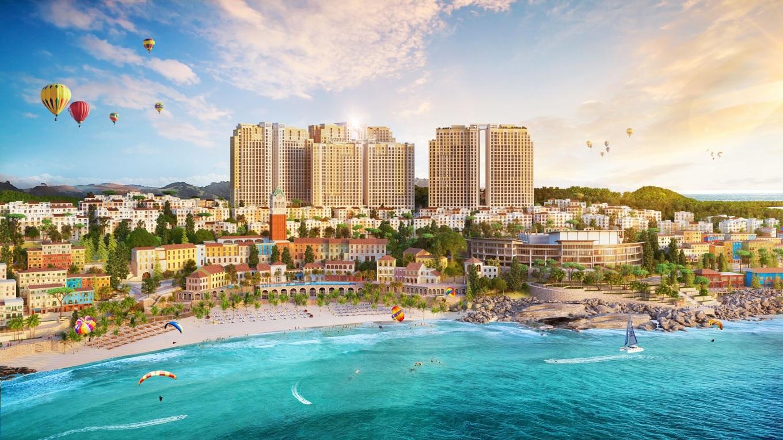 Sun Grand City Hillside Residence có vị trí đắc địa, liền kề shophouse Địa Trung Hải Sun Premier Village Primavera. Ảnh: Sun Group.
