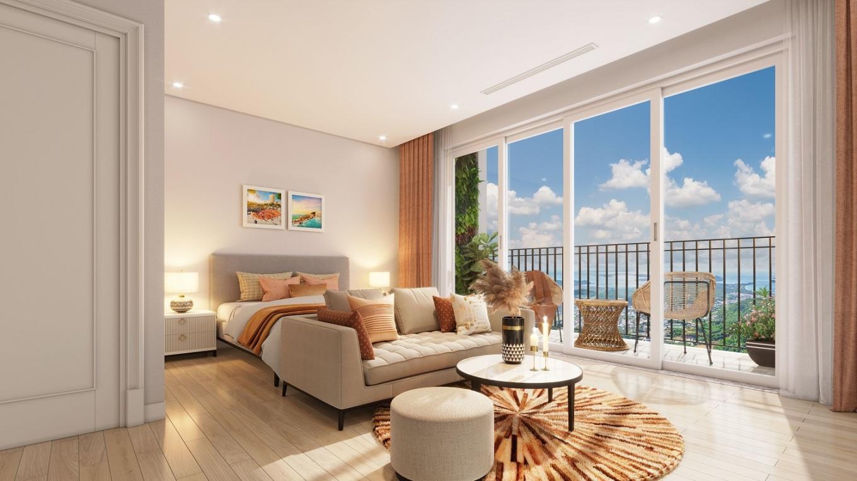 Sun Grand City Hillside Residence có đa dạng loại hình căn hộ, đem đến nhiều sự lựa chọn cho khách hàng. Ảnh: Sun Group.