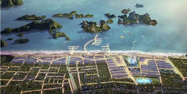 Toàn cảnh dự án Green Dragon City.