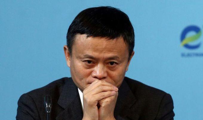 Đồng sáng lập Alibaba Jack Ma hiện giàu thứ 4 Trung Quốc. Ảnh: Reuters