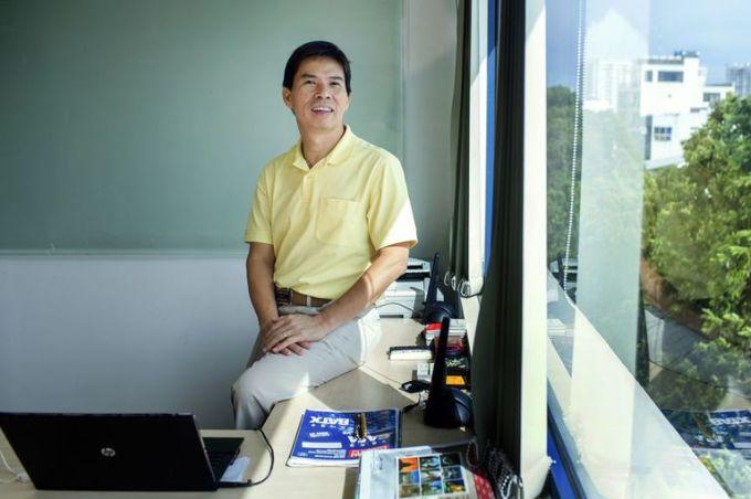 Ông Nguyễn Đức Tài, Chủ tịch Hội đồng quản trị Công ty cổ phần Đầu tư Thế giới Di động. Ảnh: Bloomberg.