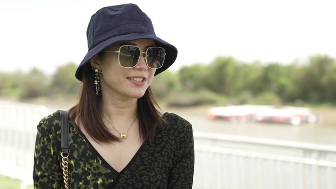Không gian sống sinh thái lý tưởng, tiện nghi đã thuyết phục chị Sarah Gui lựa chọn đô thị đảo Phượng làm nơi an cư cho gia đình nhỏ của mình tại Việt Nam. Ảnh: Novaland.