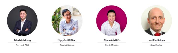 Ông Trần Minh Long, Nguyễn Hải Ninh, Phạm Anh Đức là các gương mặt Forbes 30 under 30 qua các năm. Ảnh: Chụp màn hình.