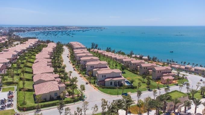 NovaHills Mui Ne Resort & Villas được vận hành theo tiêu chuẩn 4 sao quốc tế. Ảnh chụp thực tế Dự án tháng 02/2021. Nguồn: Novaland.
