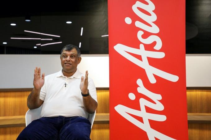 Ông Tony Fernandes, Nhà sáng lập kiêm CEO AirAsia chia sẻ hôm 6/3. Ảnh: Reuters.