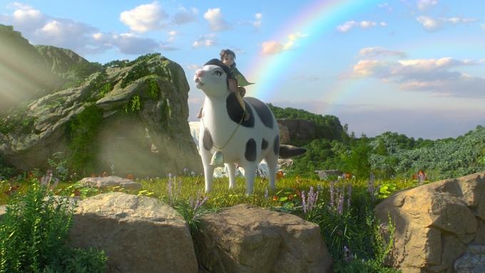 Vùng đất Linh Thú huyền bí và diệu kỳ - nơi giúp trẻ em phát huy trí tưởng tượng. Ảnh: NutiFood.