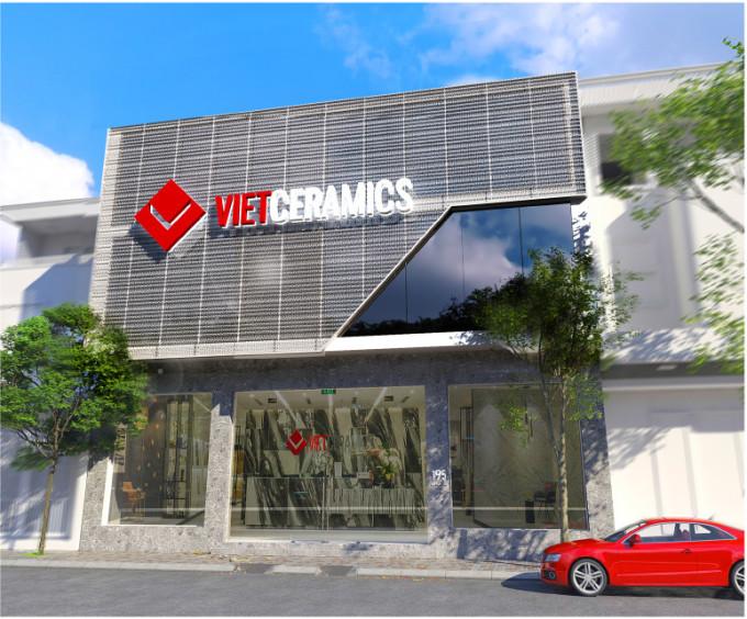 Showroom mới của Vietceramics tại Đà Nẵng. Ảnh: XIN TÊN NGƯỜI CHỤP