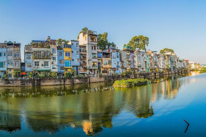 Những khu phố Hà Nội san sát. Ảnh: Zing.