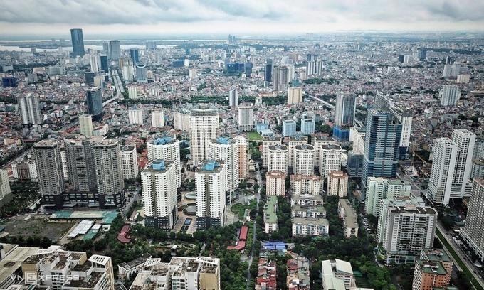 Thị trường bất động sản Hà Nội. Ảnh: Giang Huy.