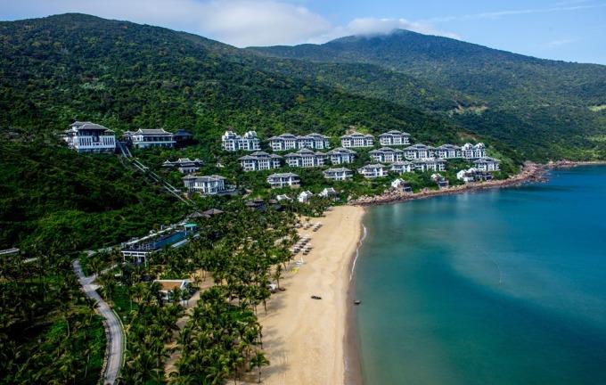 Khu nghỉ dưỡng InterContinental Danang Sun Peninsula. Ảnh: Nguyễn Đông.